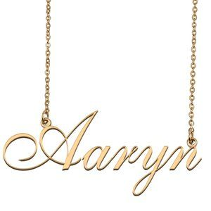 Custom Personalized Aaryn Name Necklace